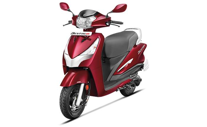 The Hero Destini Is The First Ever 125 Cc Scooter From Hero